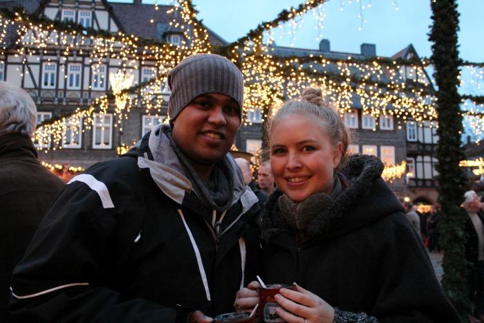 Katrina & Craig At Goslar's Christmas Market