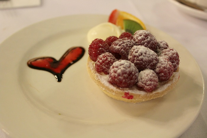 Berry Tart At Hopetoun Tea Rooms