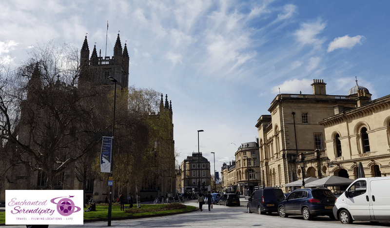 Bath Abbey Street View