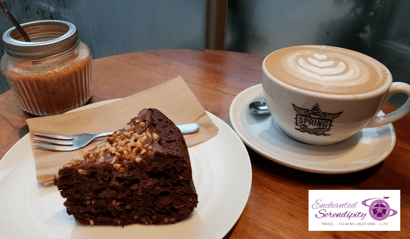 Spring Espresso Cake & Coffee