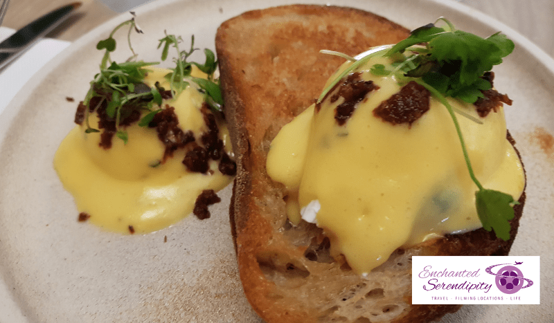 Melbourne Cafe Guide Where Locals Go For Coffee Higher Ground Eggs Benedict