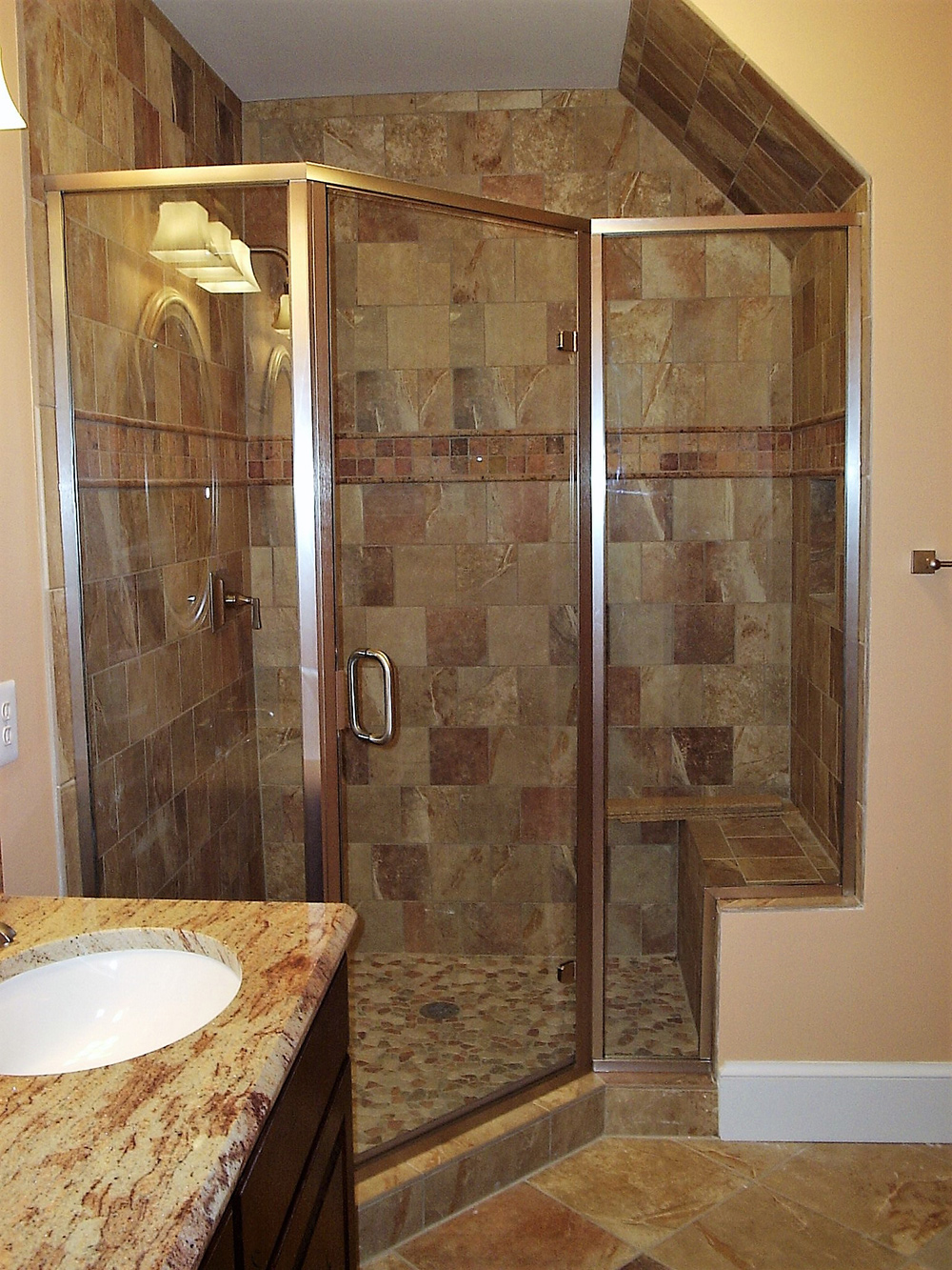 Semi Frameless Shower Sterling Middleburg Warrenton