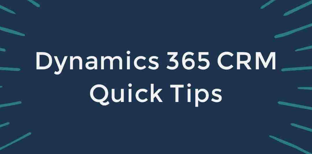 QuickTip – Simple Personal Navigation in Dynamics 365