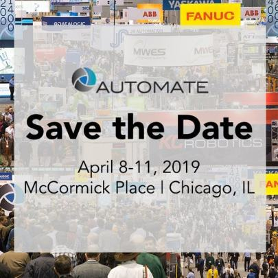 an image of the automate 2019 announcement as part of January 2019 News And Updates