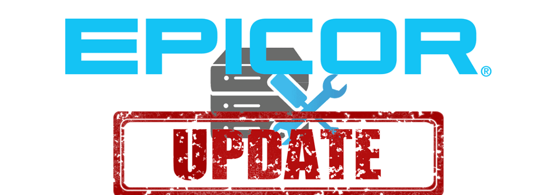 an image depicting a software update for epicor erp 10.2.400 update