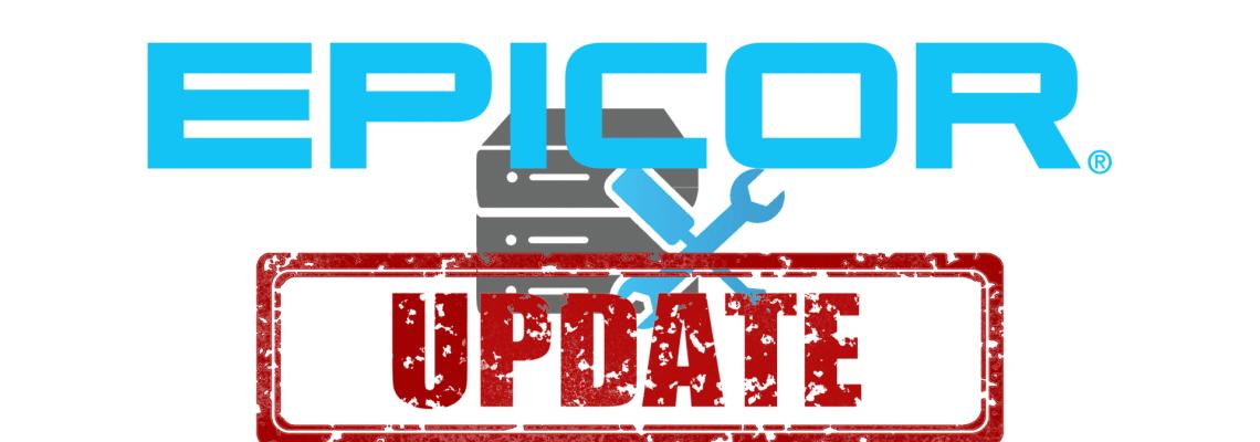 an image of Epicor Cloud ERP 10.2.700 Update