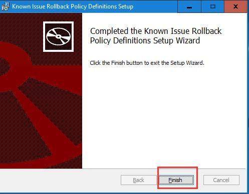 Epicor Preview Microsoft Fix Step 5c