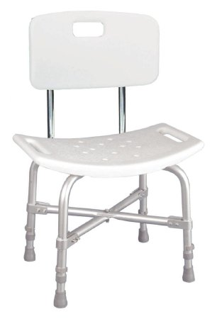 Heavy Duty Bariatric Shower Bench with Backrest