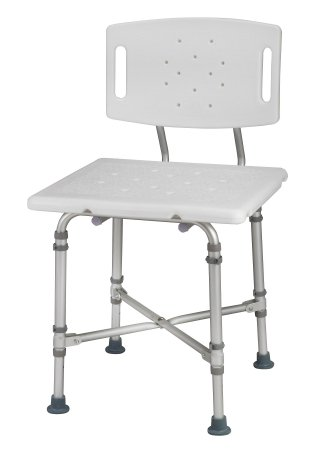 Bactix Shower Bench with Backrest