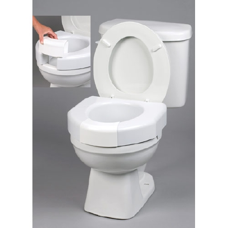 Open or Closed Front Raised Toilet Seat