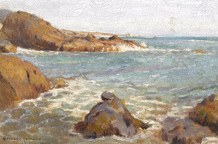 Rocky Coast by Granville Redmond