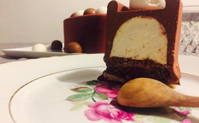Chocococo – Entremets chocolat noix de coco