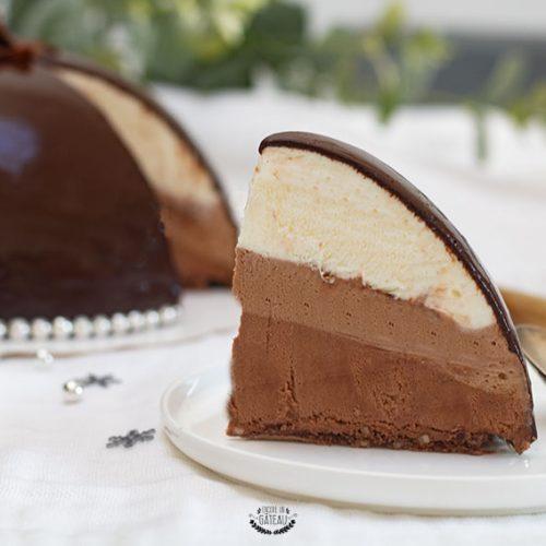 entremets trois chocolats recette facile et rapide