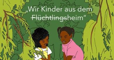 """""""Wir Kinder aus dem (Flüchtlings)Heim"""" – ein Gespräch über ein kollaboratives Kinderbuchprojekt"""