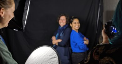 Photography workshop on womxn leadership