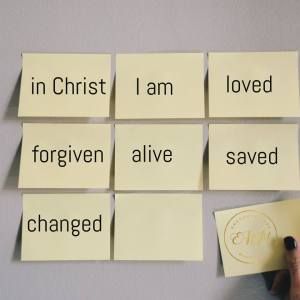 In Christ I am