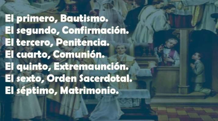 Sacramentos de la Iglesia Católica