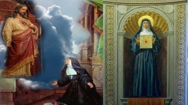 Santa-Margarita-Maria-de-Alacoque-y-el-Corazon-de-Dios-autobiografia-el-Corazon-de-Jesus.