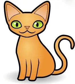 gato animado