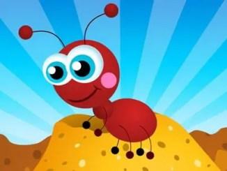 hormiga animada
