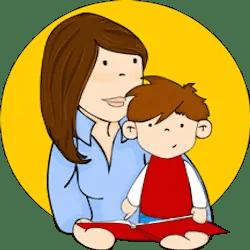 madre leyendo cuento