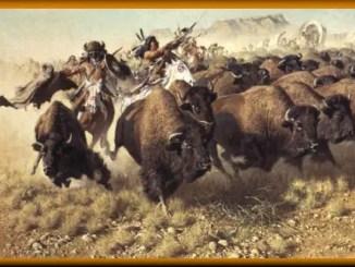 Leyenda de los indios Crow