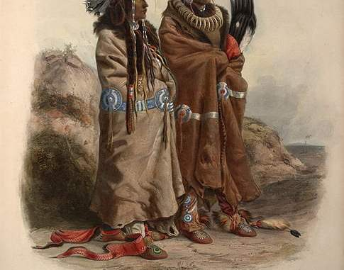 Leyenda de los indios Mandan
