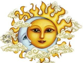 Cuentos inventados sobre la luna y el sol
