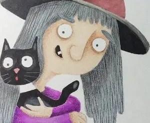 Cuentos de brujas y gatos
