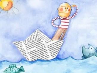 Poemas cortos de barcos para niños