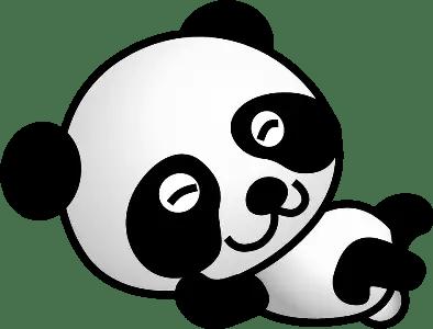 Poesías infantiles de osos pandas