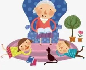 Cuentos infantiles de abuelas