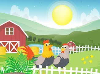 Cuentos de granjas infantiles