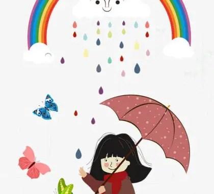 Cuentos infantiles de paraguas