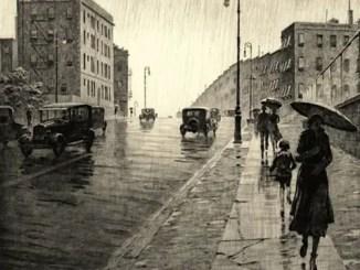Poemas bonitos sobre la lluvia