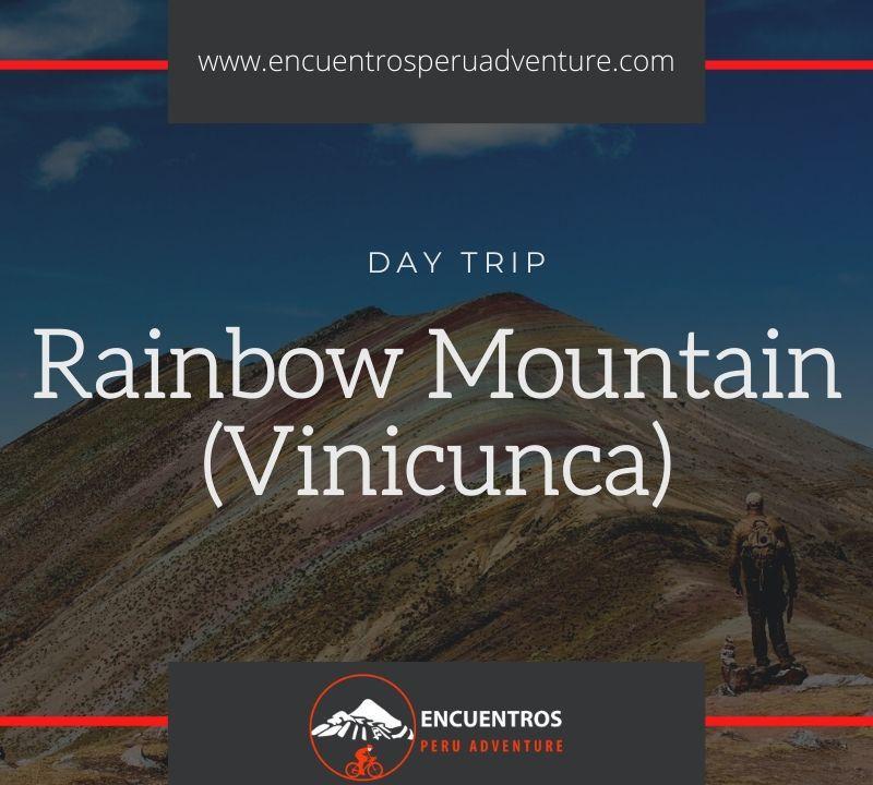 Rainbow Mountain Trek in Cusco at Vinicunca Mountians