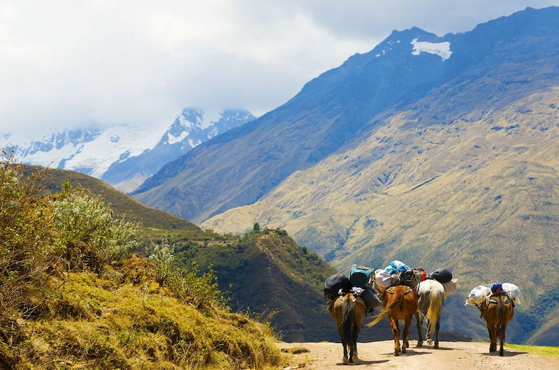 Salkantay Trek 4 Days to Machu Picchu