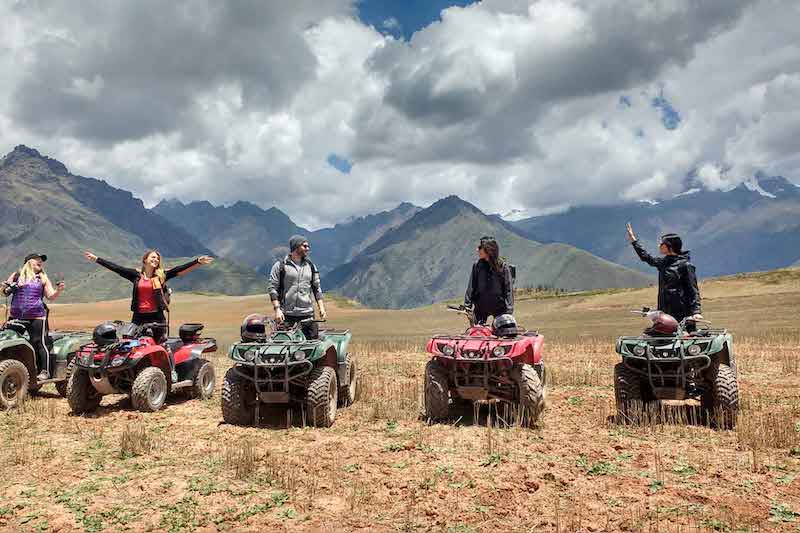ATV Tour to Maras Moray