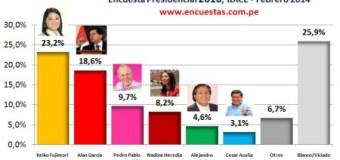 Encuesta Presidencial IDICE – Febrero 2014