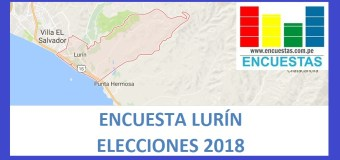 Encuesta Alcaldía de Lurín – Agosto 2018