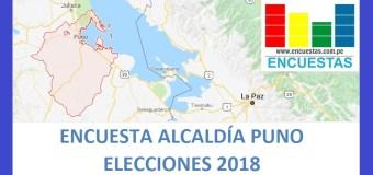 Encuesta Alcaldía Provincial de Puno – Agosto 2018
