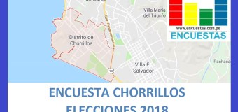 Encuesta Alcaldía de Chorrillos – Setiembre 2018