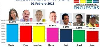 Encuesta Online Alcaldía del Rímac – 01 Febrero de 2018