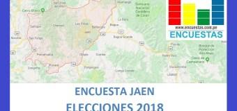 Encuesta Alcaldía Provincial de Jaén – Setiembre 2018
