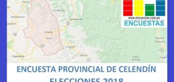 Encuesta Alcaldía Provincial de Celendín, Cajamarca – Junio 2018