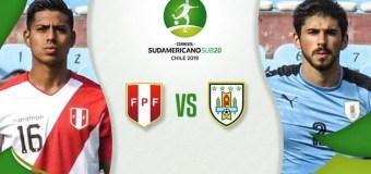 Sudamericano Sub-20: Perú 1-0 Uruguay /  18 Enero 2019