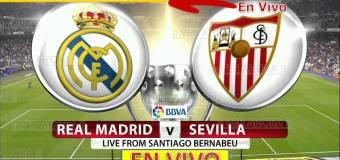 España Primera A: Real Madrid vs Sevilla EN VIVO