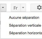 option volet apercu gmail