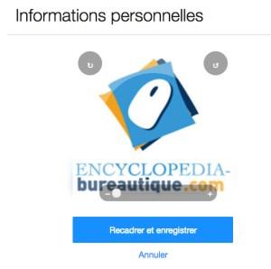 Cadrage de votre logo de profil Yahoo