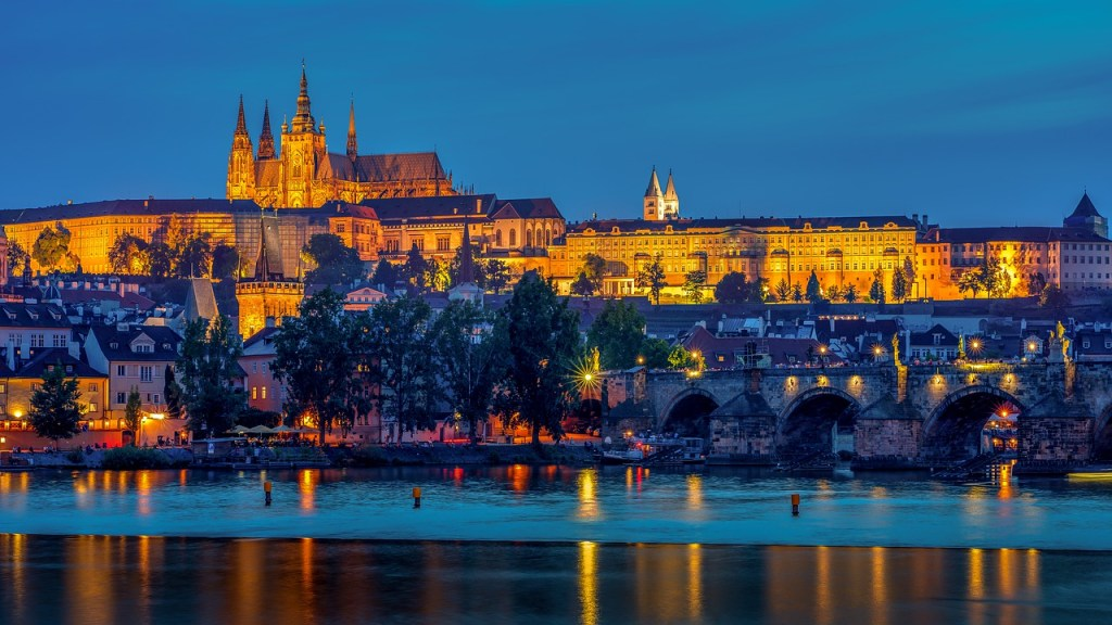 prague, cathedral, architecture